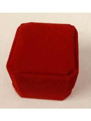 Ring Box - Red Velvet (pack of 12)