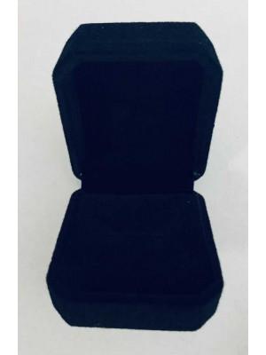 Ring Box - Black Velvet (pack of 12)