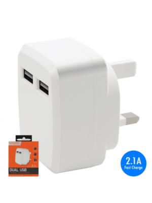 2.1A  Dual USB plug