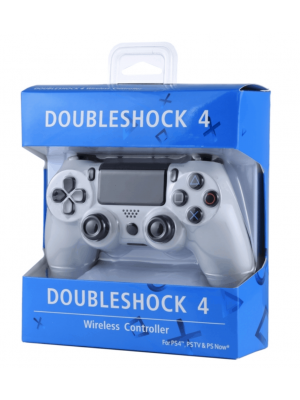 Wireless Gaming PS4 Controller - PS4 Compatible Black or White