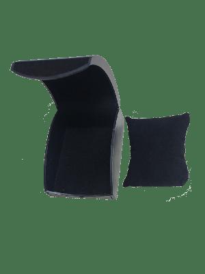 Watch Box - Black Plastic